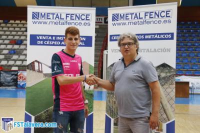 Peli cierra su etapa como Juvenil y asciende primer equipo del Soliss FS Talavera