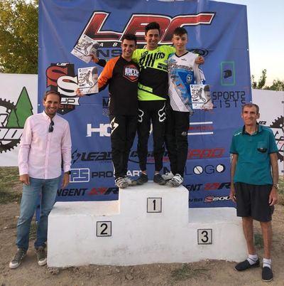 Oro, plata y dos bronces para los pilotos del BMX Talavera