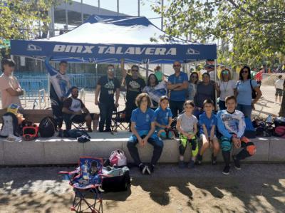 Oro y dos platas para el BMX Talavera en la final de la Copa de Madrid