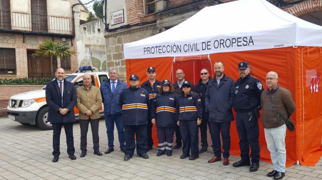 Nuevo material para las agrupaciones de Protección Civil de la comarca de Talavera