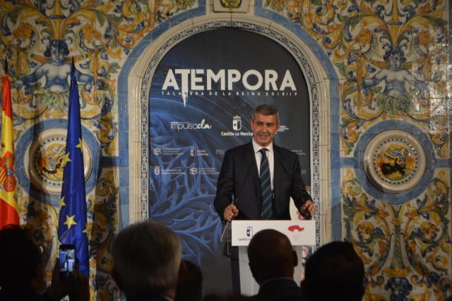 Diputación resalta el impulso para Talavera de la mejor exposición de cerámica de España: 'aTémpora'