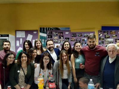 La sección juvenil de la Asociación 'Aurelio de León' celebró su 25 aniversario