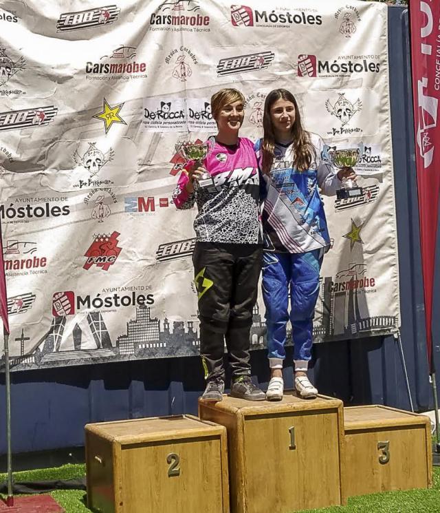Dos oros y dos finalistas para el BMX Talavera en la Copa de Madrid