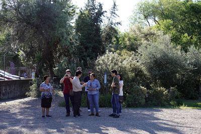 Tita García quiere paliar el abandono de los barrios al otro lado del río Tajo