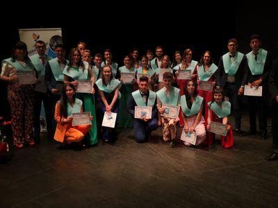 Graduación de los alumnos de 2º de Bachiller y FP Grado Superior del IES Ribera del Tajo