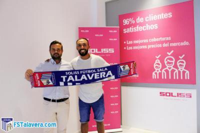 Primer fichaje del nuevo proyecto del Soliss FS Talavera