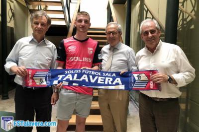 Manu Cebrián llega al Soliss FS Talavera para aportar juventud y frescura al ataque