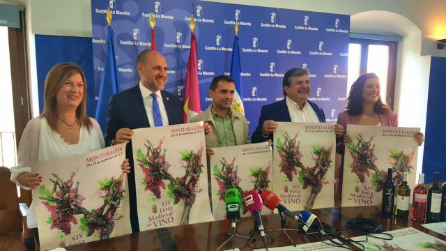 Presentada en Talavera una nueva edición de la Feria Medieval del Vino de Montearagón