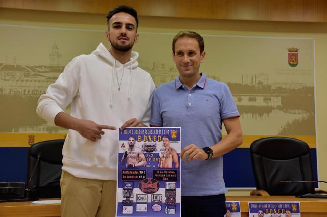 El Ayuntamiento apoya el combate de Adam Trenado en Talavera