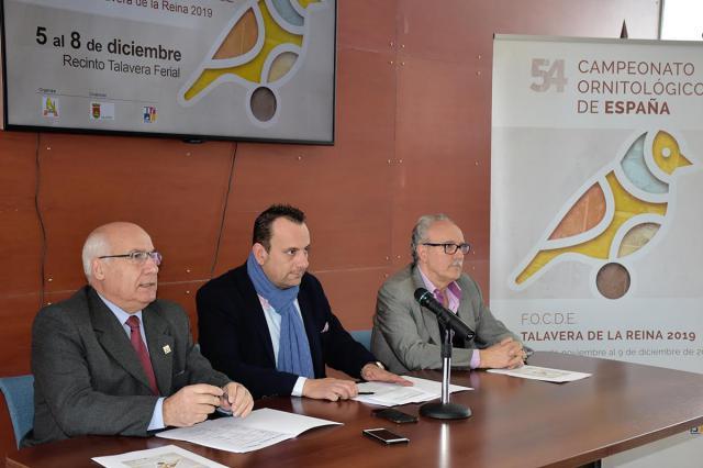 Cerca de 14.000 aves participarán en el Concurso Nacional Ornitológico de Talavera