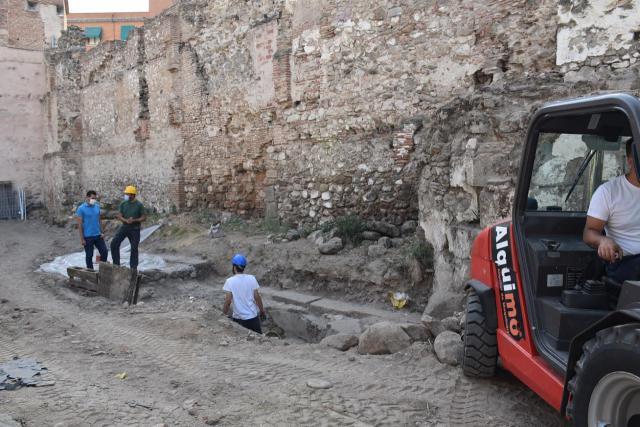 TALAVERA | Comienza la recuperación de la muralla de El Salvador
