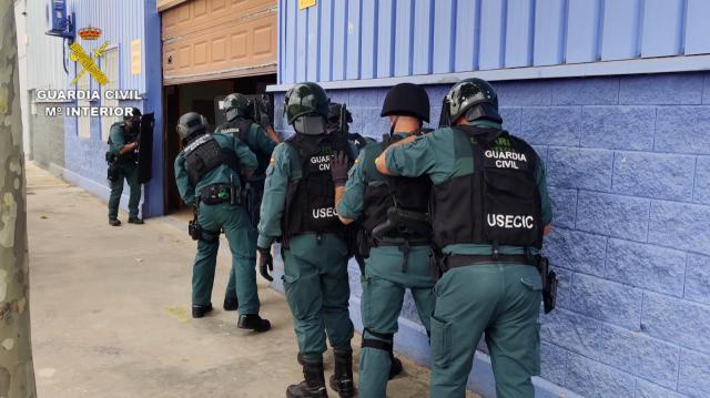 MARIHUANA | Macrooperación en las provincias de Toledo, Madrid, Segovia y Guadalajara