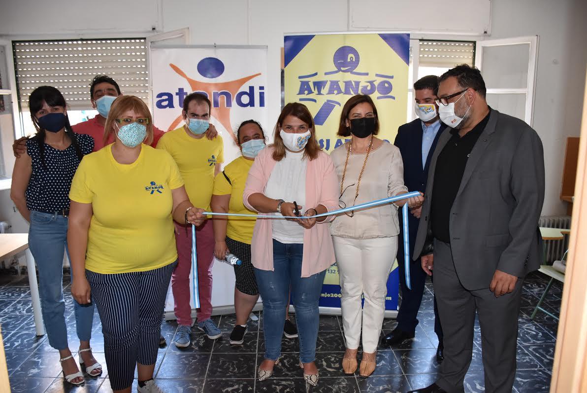 Las asociaciones ATANDI y ATANJO 'estrenan' local
