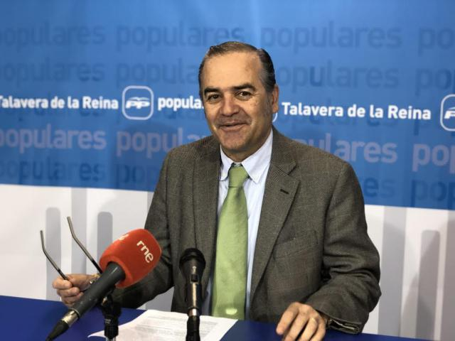 El presidente provincial del PP, José Julián Gregorio