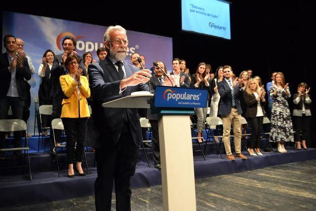 Ramos presenta su candidatura a la reelección con la hoja de ruta 'Talavera 2025'