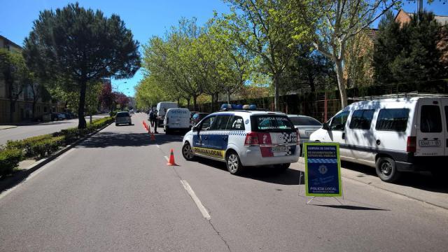 Nueva campaña de vigilancia y control de camiones y autobuses en Talavera