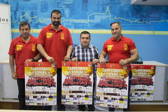 El Campeonato de España de Fisicoculturismo y Fitness que se celebra en Torrijos, clasificatorio para Ms & Mister Universo
