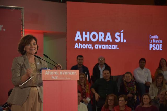 Carmen Calvo en Talavera: