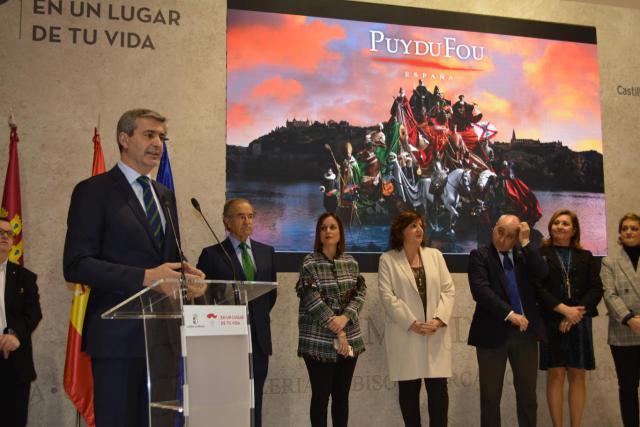 """Álvaro Gutiérrez: """"Vamos a aprovechar la oportunidad turística que supone de Puy du Fou para la provincia"""""""