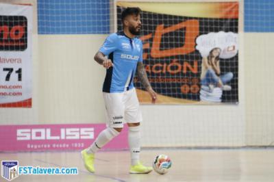 Caio Alves, del Soliss FS Talavera, cuelga las botas y anuncia su retirada