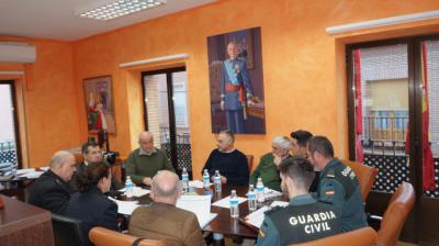 Carlos Ángel Devia preside la constitución de la Comisión Local de Seguridad en Nombela