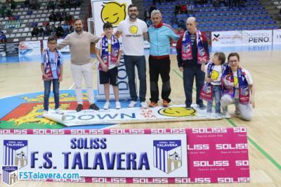 Down Talavera participó como invitada en la iniciativa 'Jugador número seis'