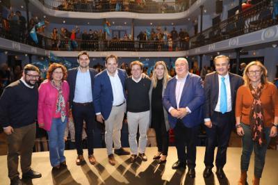El alcalde de Madrid participa en un acto electoral junto a Paco Núñez en Talavera