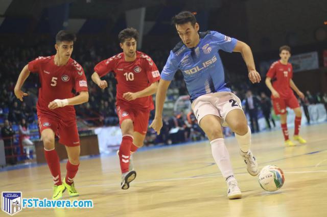El Soliss FS Talavera rescata un punto en el último segundo ante el Rivas Futsal