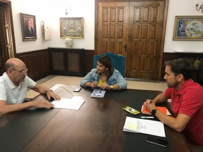 Reunión para preparar el Campeonato de España de Kárate en Talavera