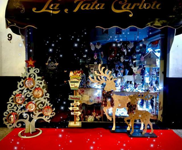 TALAVERA | Estos son los comercios ganadores del Concurso de Escaparates de Navidad