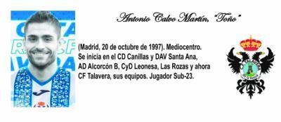 FÚTBOL   ¿Quién es quién en el nuevo CF Talavera? (XI)