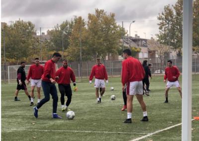 La selección regional absoluta se prepara para el viaje a Galicia
