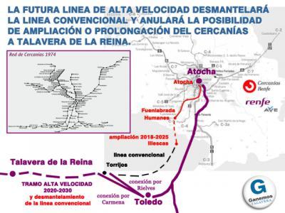 Piden dejar claro cuál es el modelo de tren que necesita Talavera
