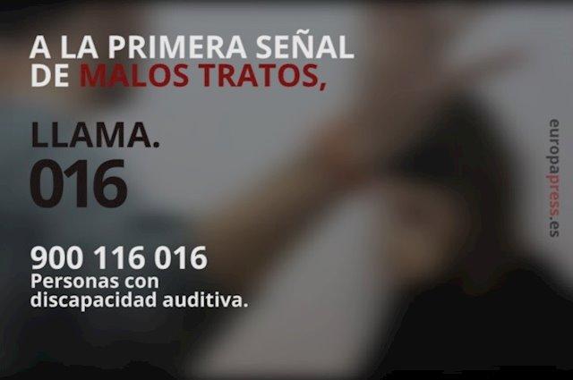 Aumentan las denuncias por violencia de género presentadas en Castilla-La Mancha