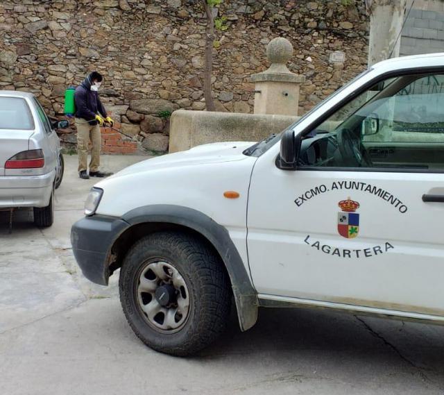 CORONAVIRUS | Lagartera, unida contra la pandemia