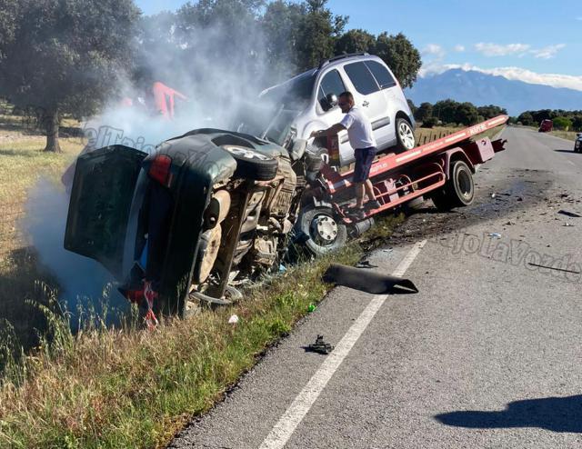 Brutal accidente entre Rosalejo y Navalmoral (Cáceres) con un fallecido
