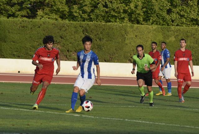 El CF Talavera debuta en la Liga con derrota (1-0) en Jumilla (GALERÍA DE FOTOS)