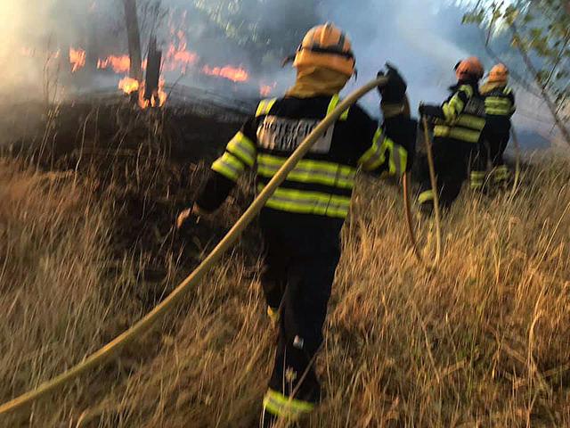 FUEGO   Nuevo incendio en Cerro Alberche, El Casar (Toledo)