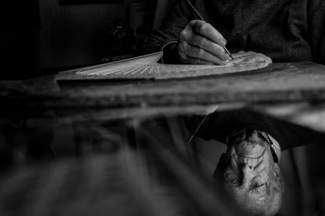 El ceramista talaverano Rafael García Bodas