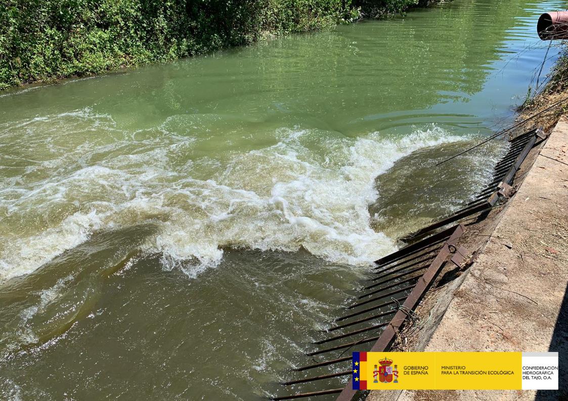 Finalizan las obras de emergencia para llevar agua del Tajo al Canal Bajo del Alberche