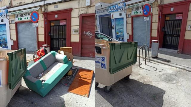 EL DATO | Recogidas 4 toneladas de basura en Talavera en un solo día
