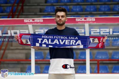FÚTBOL SALA | El Soliss FS Talavera firma a Andrés Agudelo como proyecto de futuro