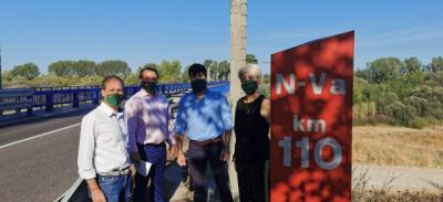 TALAVERA | Vox exige el desdoblamiento del puente Alberche