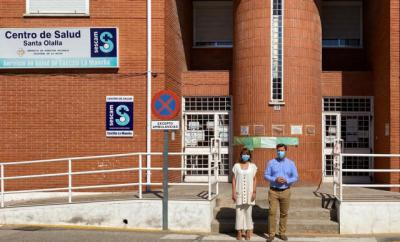 SANTA OLALLA | El PP alerta del colapso del Centro de Salud