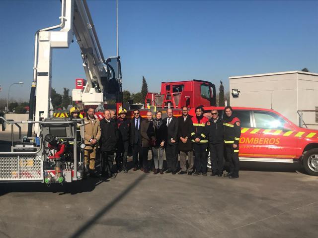 Una delegación argelina conoce el funcionamiento del Consorcio de Bomberos de Toledo