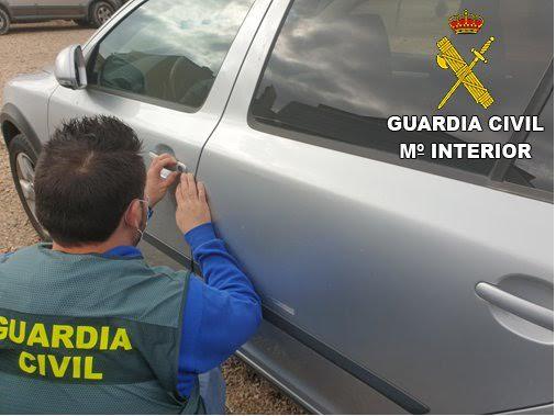 GUARDIA CIVIL   Detenidos por desvalijar coches en la provincia de Toledo