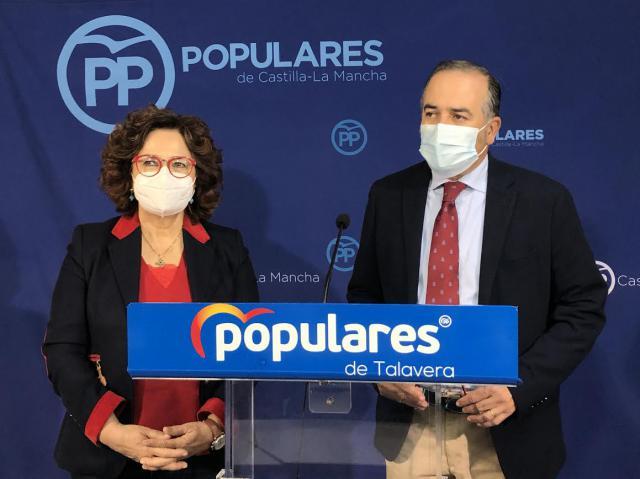 TALAVERA | Gregorio y Riolobos piden a los diputados del PSOE que se opongan a los PGE por
