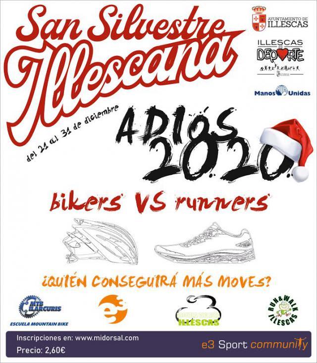 ILLESCAS | La San Silvestre será virtual y solidaria