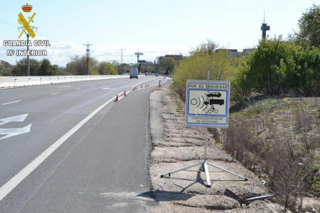 PILLADO | Conducía una motocicleta a 204 km/h por una carretera de la provinca de Toledo