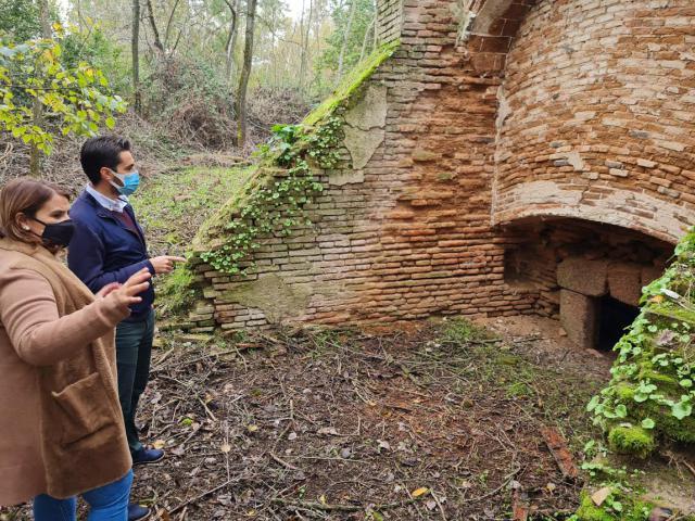 TALAVERA | Objetivo: recuperar un antiguo horno de 1841 ubicado en la Isla de los Molinos
